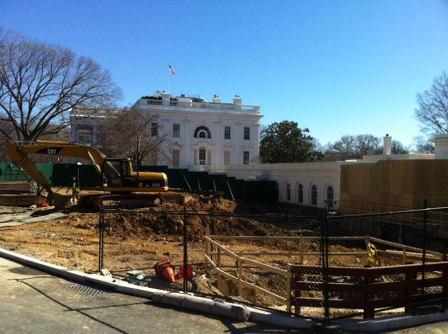 Tunnels Under White House