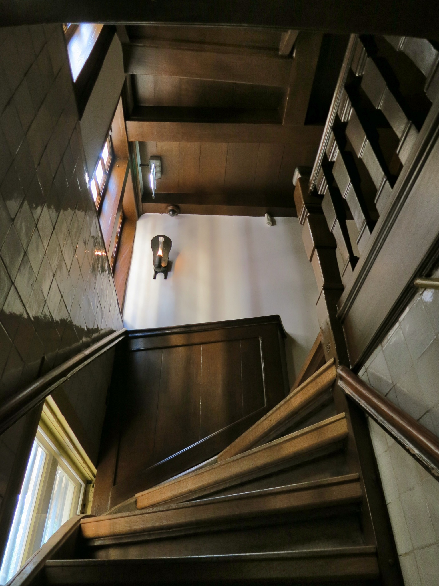 Amsterdam Hidden Attic Church First Flight Stairs Covert
