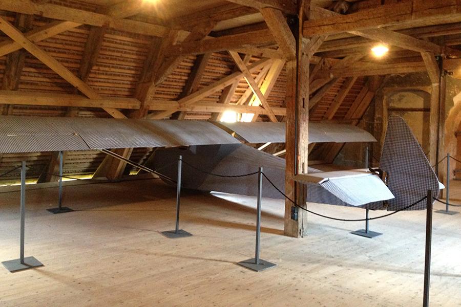 Colditz Castle Glider Built By World War Ii Prisoners In